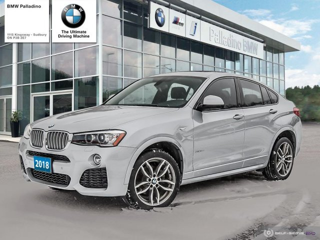 Pre-Owned 2018 BMW X4 xDrive28i / Black Interior/Premuim Enhanced / Warranty