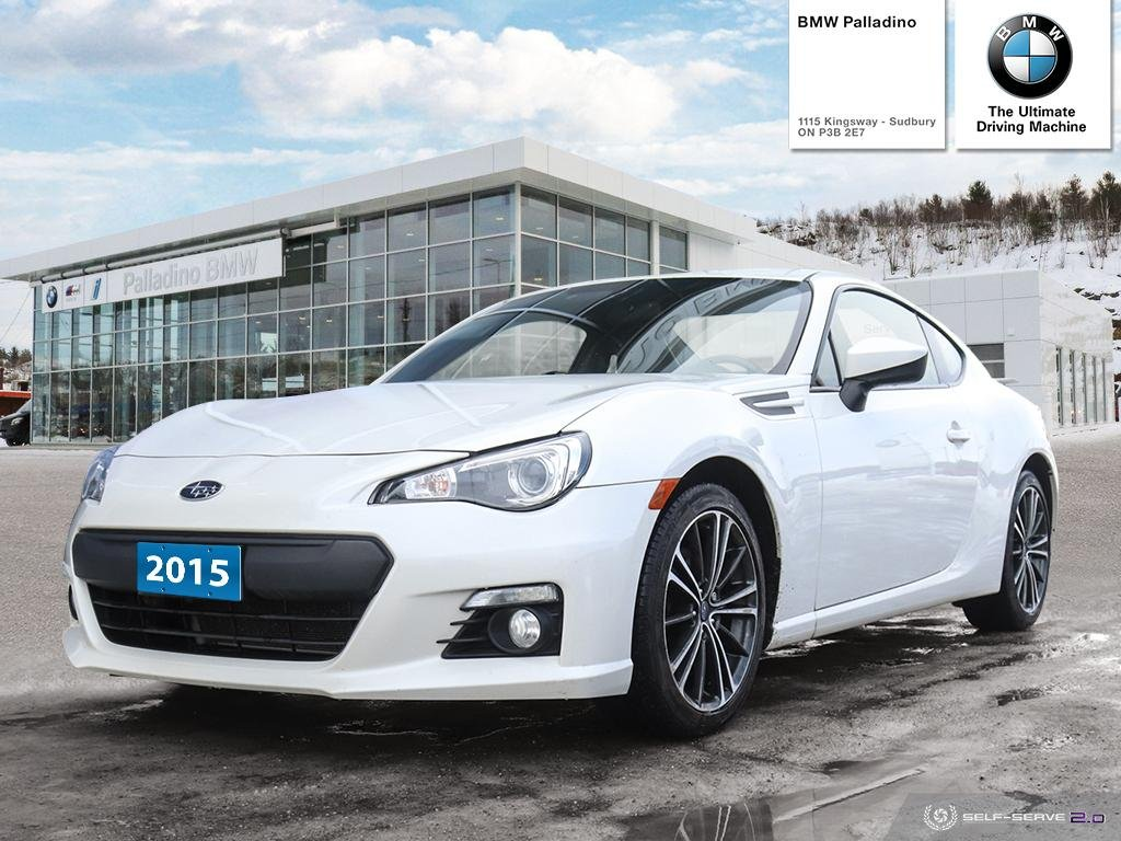 Pre-Owned 2015 Subaru BRZ Sport-tech