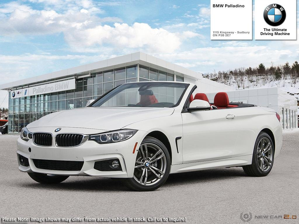 New 2019 BMW 4 Series 430i xDrive Cabriolet/Premium package essential/ Storage compartment package