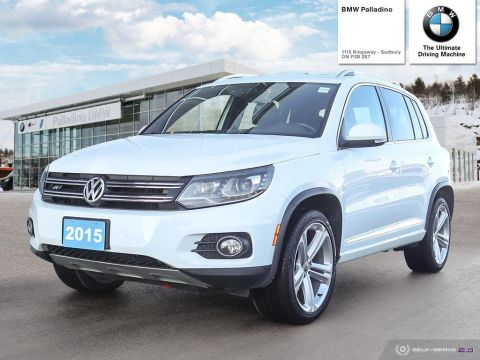 Pre-Owned 2015 Volkswagen Tiguan Highline